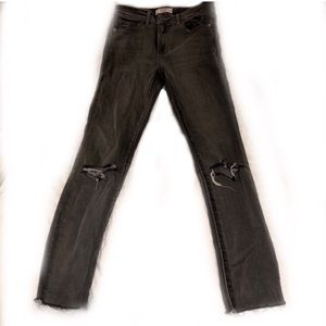 Abercrombie High Rise Skinny Jeans